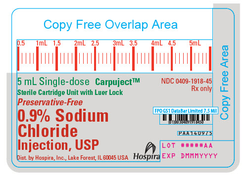PRINCIPAL DISPLAY PANEL - 5 mL Cartridge Label